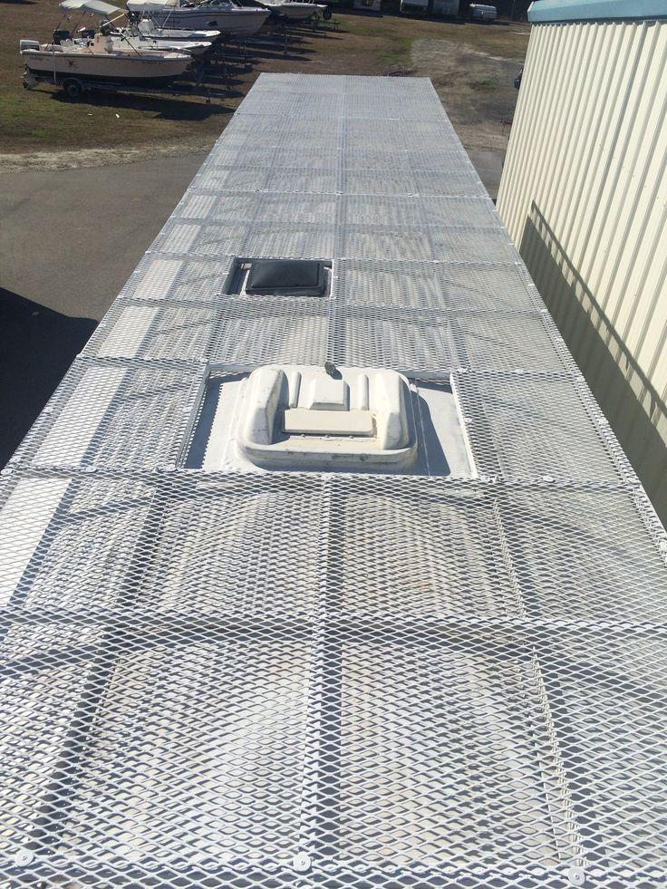 skoolie roof deck - Google Search