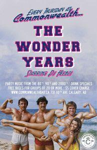 The Wonder Years @ Commonwealth Bar & Stage | Calgary | Alberta | Canada