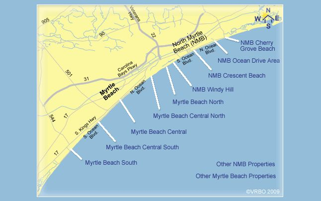 1000 Ideas About Myrtle Beach Vacation Rentals On