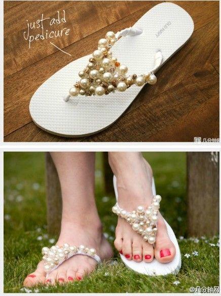 Sandalias decoradas 5