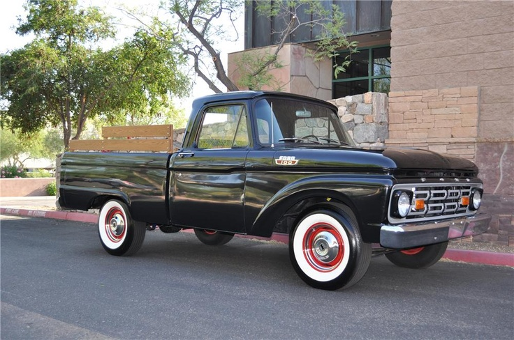 1964 FORD F-100 SHORT BED PICKUP | Trucks and 4x4's I like ...