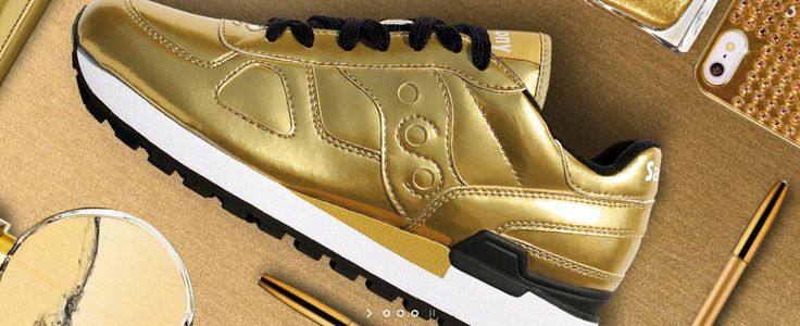 THE GOLDEN AGE Le Metallic Saucony