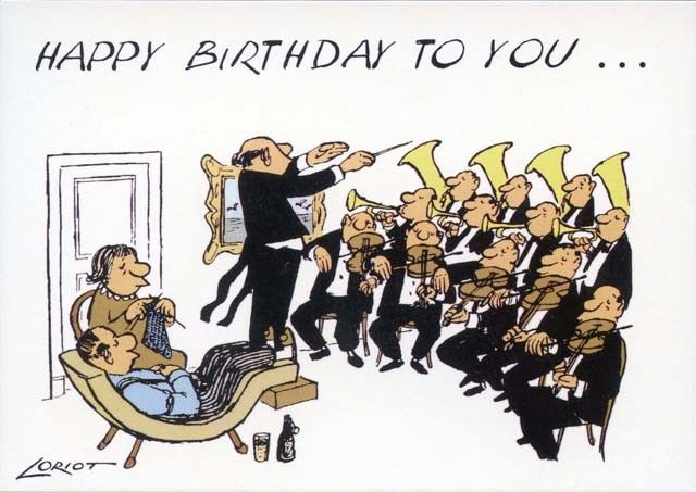 Loriot - Happy Birthday to you ...