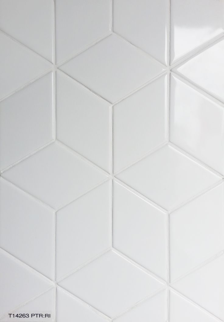 """""""White Cube - Gloss"""" available in 300 x 345mm. Contact Perini Tiles: 03 9421 0550 and quote code: T14263."""