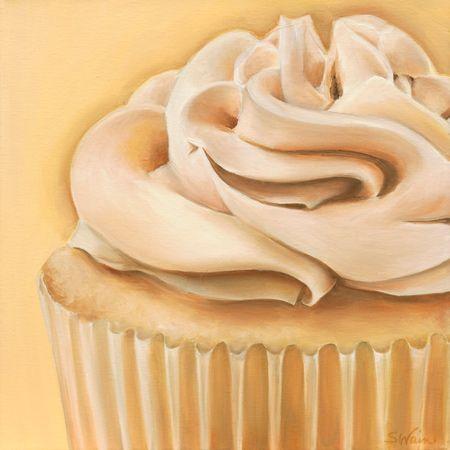 Vanilla Caramel Cupcake | Sarah E. Wain