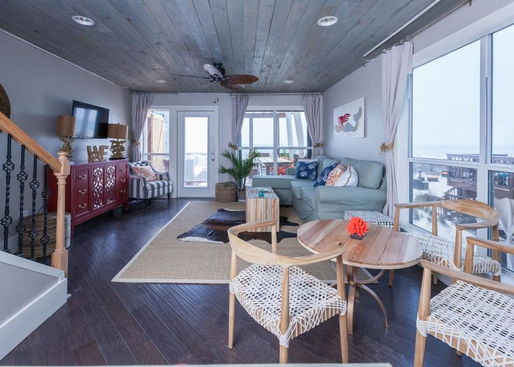 Tour This Rustic Beach House Renovation From HGTVs Beach Flip  HGTV Beach Flip  Chic beach