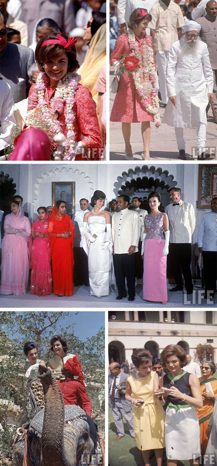 Jackie Kennedy and Lee's 1962 trip to Pakistan.