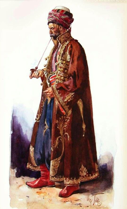 Kaftan traditional outfit