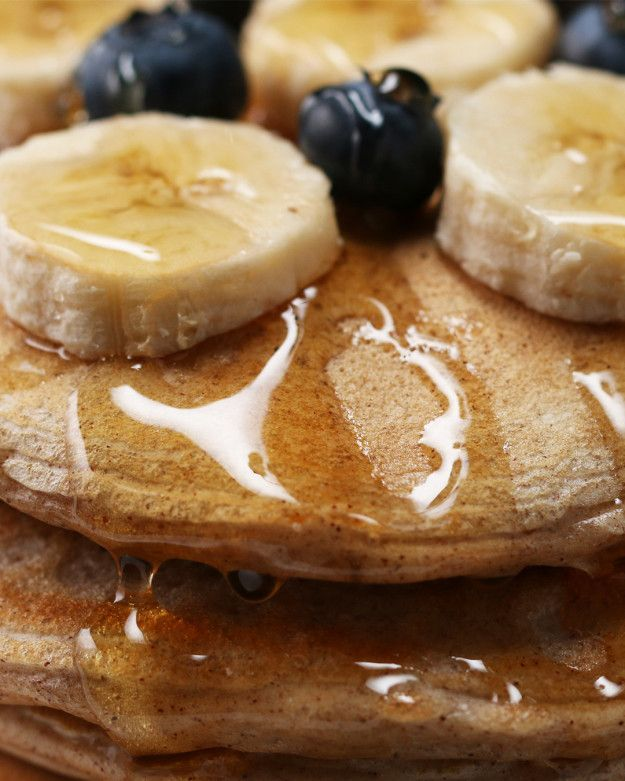 These Vanilla Protein Pancakes Are Healthy AF
