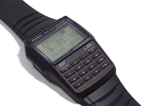 Casio Databank Calculator Watch. DBC32-1A DBC-32-1A