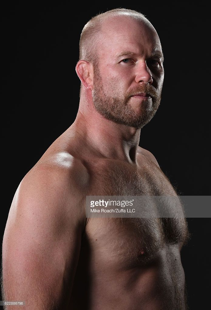 Tim Boetsch poses for a portrait backstage after his TKO victory over Rafael Natal during the UFC 205 event at Madison Square Garden on November 12, 2016 in New York City.