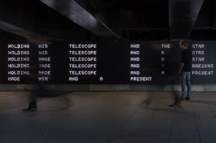 Message from the Unseen World / Work / United Visual Artists