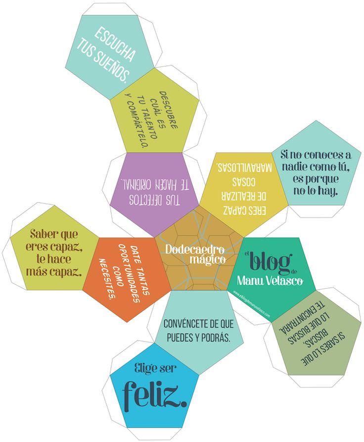 El dodecaedro mágico - Un regalo muy especial para nuestros alumnos. http://www.elblogdemanuvelasco.com/2015/11/el-dodecaedro-magico-un-regalo-muy.html