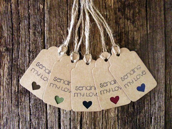 Handmade Tags, Gift tags, Wrapping tags, Rustic tags by Crafting Emotion $5.00AUD