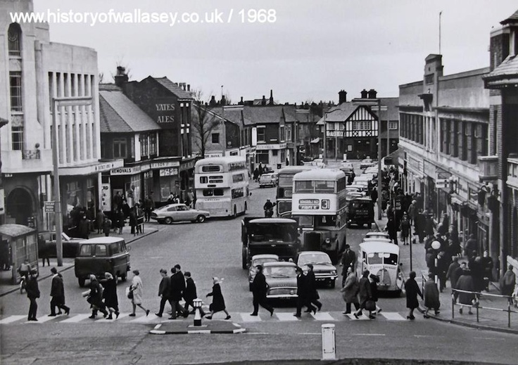 Liscard Village, Wallasey 1968