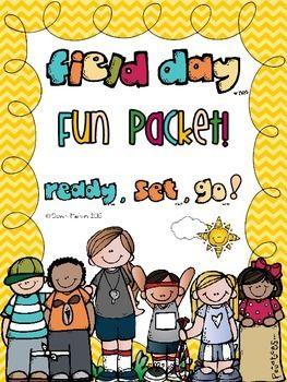 Field Dayend Of Year Fun Packet Classroom End Of School Yea