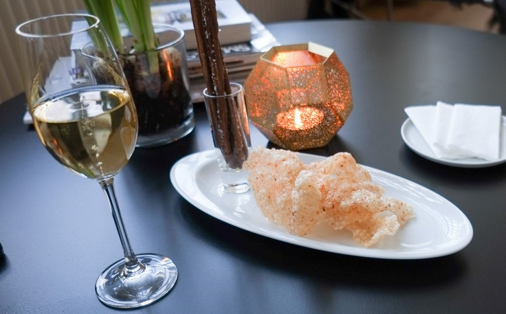 Tapioka chips med chili på Restaurant Varna