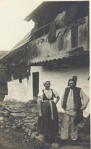 Slovakia in the 19th and 20th century - Most of pictures illustrate rural Slovakia and its peasants who are bearers of Slovak folk culture which is basically pagan, thus interesting for Slavdom as such. Ihrište is one part of the town Puchov.