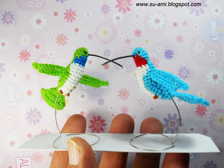 Amigurumi Hummingbird Pattern : 51 best images about Crochet Animals -- Hummingbirds on ...