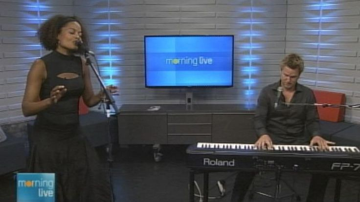 Juliet Dunn and Peter Shea; Morning Live, August 13, 2014