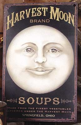 Harvest Moon Sign, Squee do you remember this from our garden tour 2 years ago, just found it on pinterest