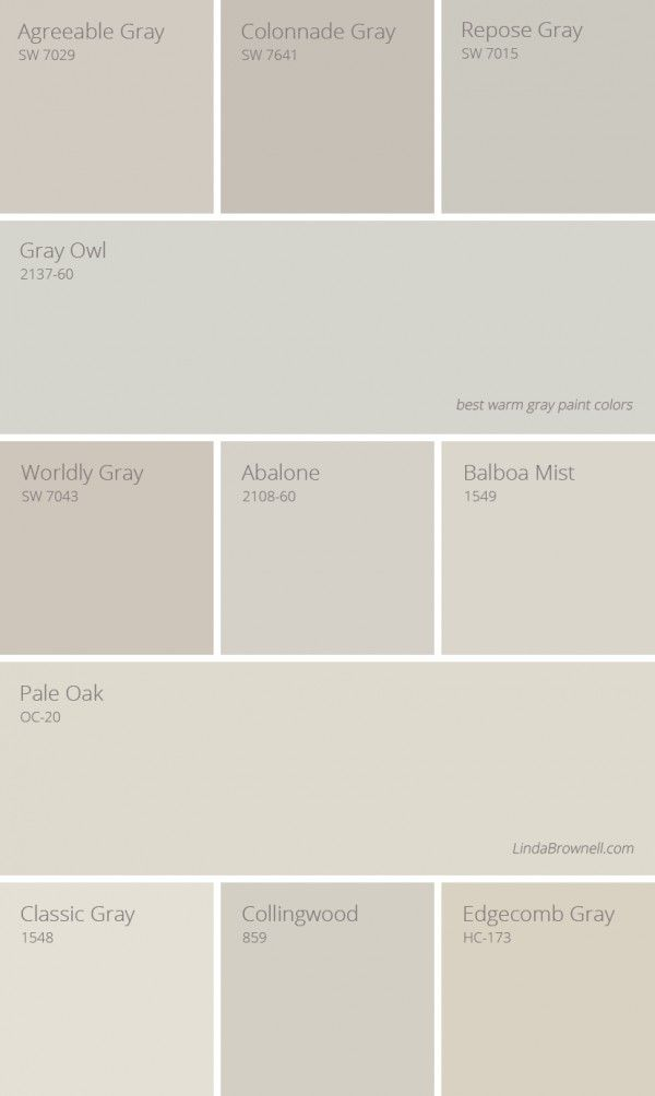 Pin by camela williams on colors | Warm grey paint colors ...