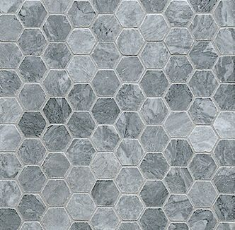 Marble Hexagons From Walker Zanger S Tribeca Collection Available At World Mosaic Tile In Vancouver