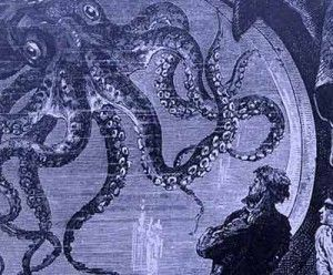 """Oggi 8 febbraio, giorno della sua nascita nel 1828, voglio parlarvi di uno degli intramontabili libri di avventura di Jules Verne """"Ventimila leghe sotto i mari"""""""