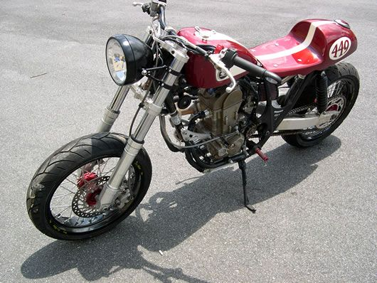CB450R Cafe Racer Kits Convert Honda CRF450R Dirt Bike to Street Legal Cafe Racer