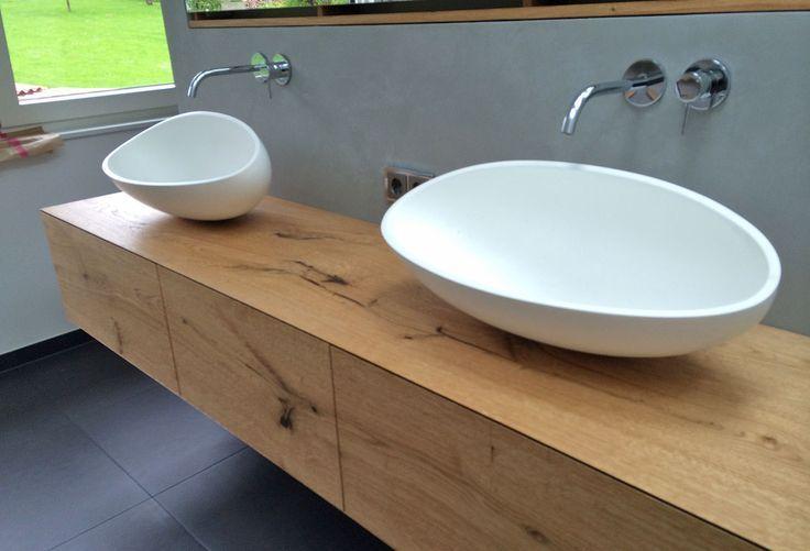 Vanity Unit Hanging Joinery Badezimmer Unterschrank Holz