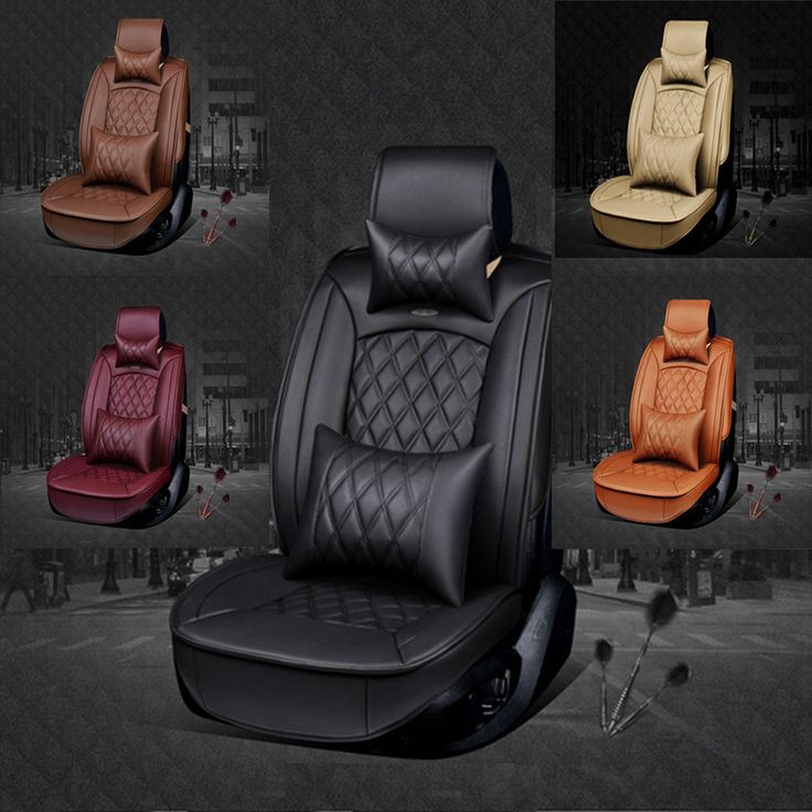 > This car seat cover set keeps your car far away from the dirt, or any other pollutions. > This car seat cover set is easy to Install and wash up. > This car seat cover set has Spandex Back. > Buy now and protect the original, or make the older seats look like new again. | eBay!