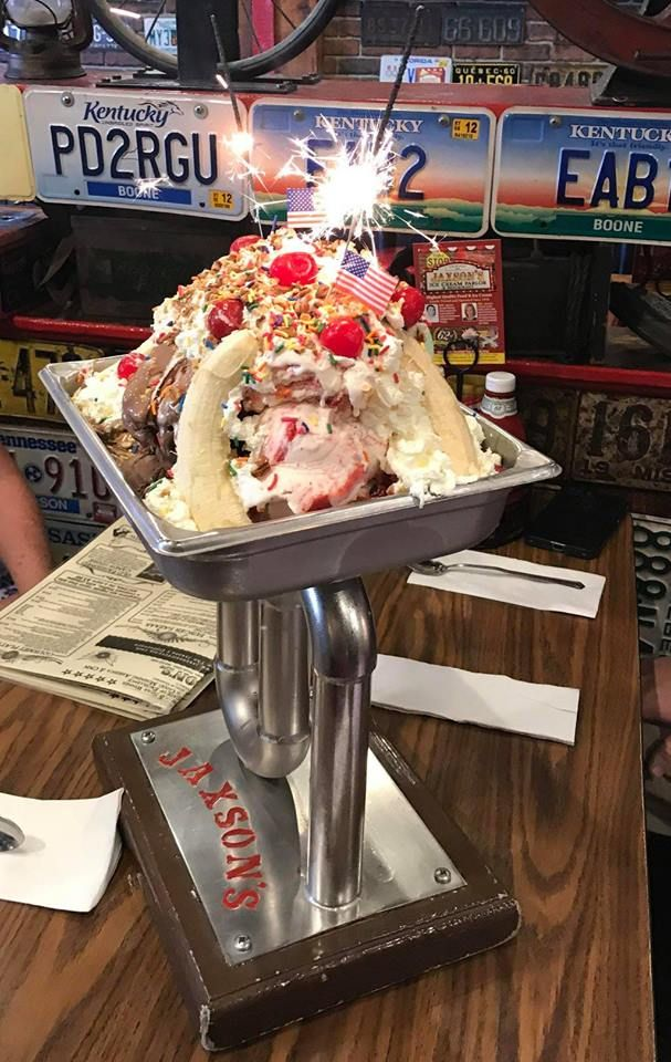 The Jumbo Ice Cream Sundaes At This Florida Restaurant Weigh More Than A Pound Nyc Coffee Shop Ice Cream Sundae Special Desserts