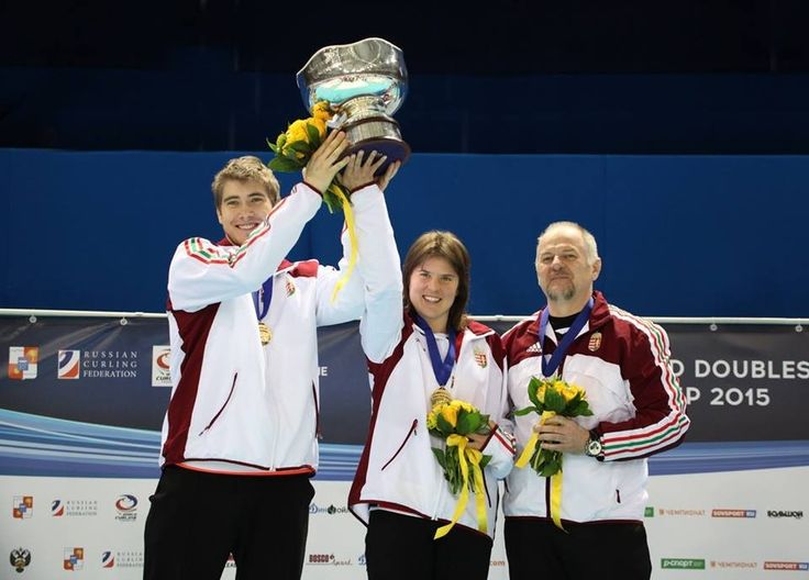 Hungary crowned world mixed doubles curling champions in Sochi