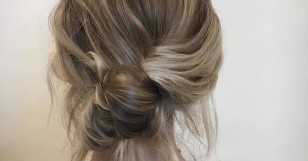 How to Do a Banana Bun Hairstyle - PureWow