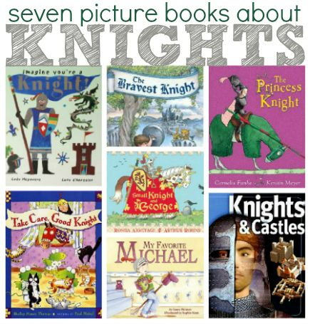 Great collection of picture books about knights.