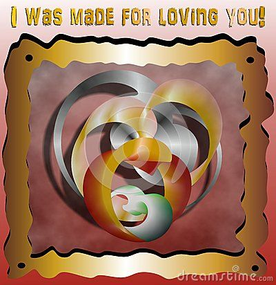 I Was Made For Loving You - Download From Over 40 Million High Quality Stock Photos, Images, Vectors. Sign up for FREE today. Image: 52849700