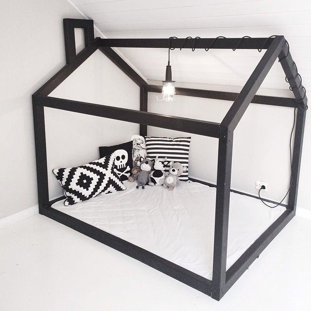 Little houses! It can delimitate a nook, enhance imaginative play or be the structure for a great hut if you use sheets!
