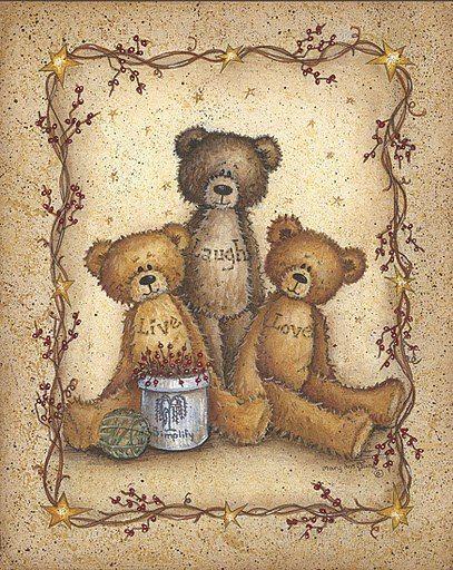 этого картинки медвежат для декупажа человеку цель