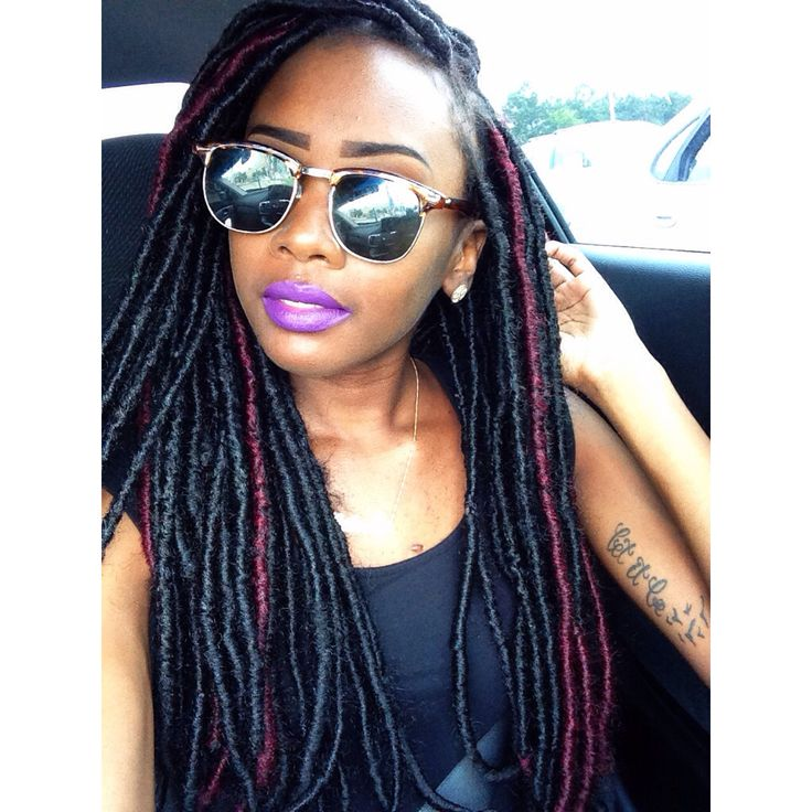 Outstanding 1000 Images About Twists Amp Locs On Pinterest Dreads Protective Short Hairstyles Gunalazisus