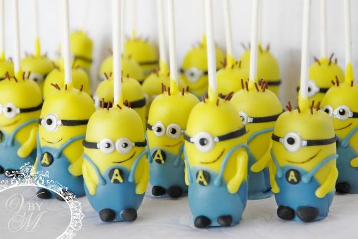 Minion Cakepops - Cake by Victoria  Mkhitaryan Cakes&Desserts