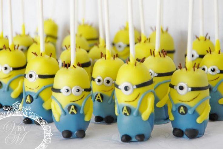 Minion Cakepops - Cake by Victoria  Mkhitaryan Cakes&Desserts