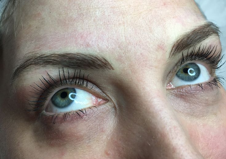 Beautiful Microblading for a subtle natural finish when healed 💕