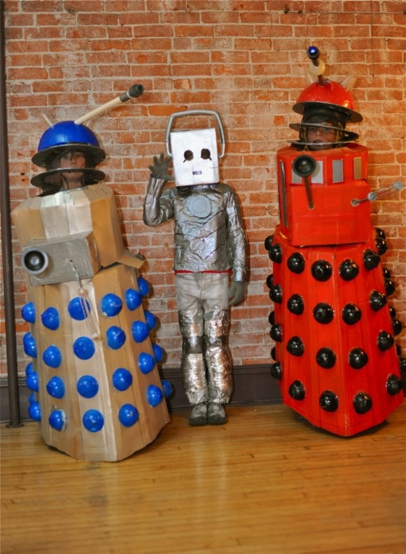 Dr. Who Costume Party @Raw Deal