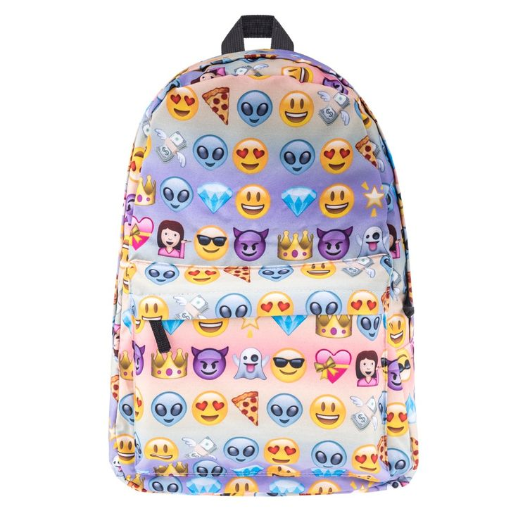 Find More Backpacks Information about Emoji Print for teenage girls sac a dos canvas backpack Who Cares Soft Handle bookbag school bags backpack women mochila  ,High Quality backpack women,China bag backpack Suppliers, Cheap school bag backpack from who cares luggage & bags store on Aliexpress.com