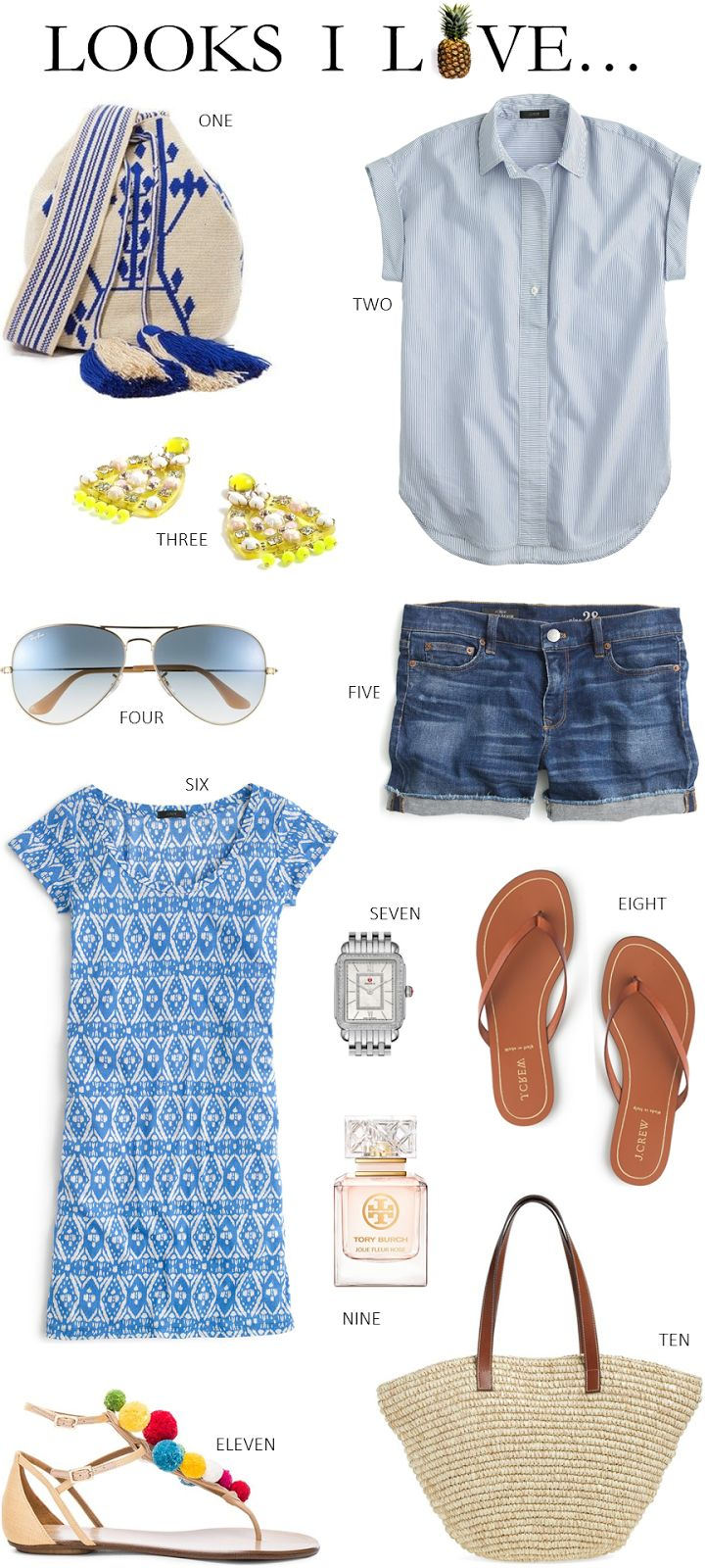 135badbcd1 LOOKS I LOVE // SUMMER CASUAL RESORT WEAR | My Style | Resort wear, Resort  casual, Summer holiday outfits