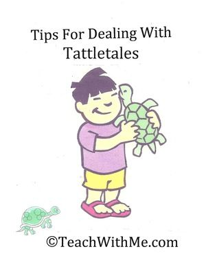 Tips On Dealing With Tattletales
