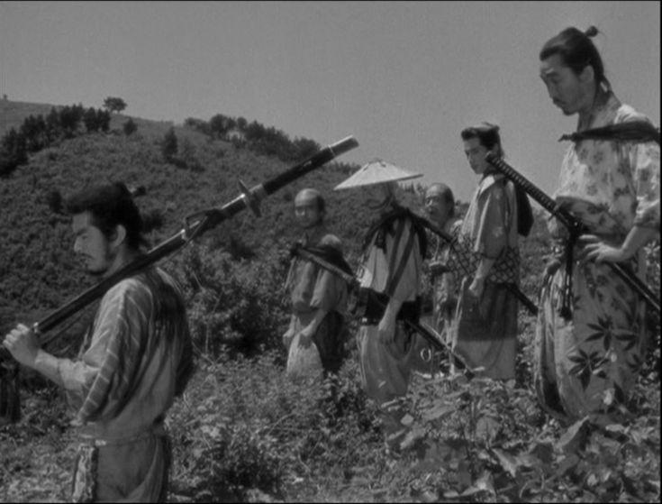 Seven Samurai, Akira Kurosawa 1954