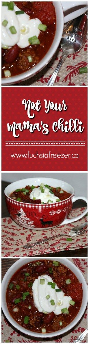 The Perfect Chilli Recipe to feed a large family, or to throw some in your freezer for lunch another day! Delicious!