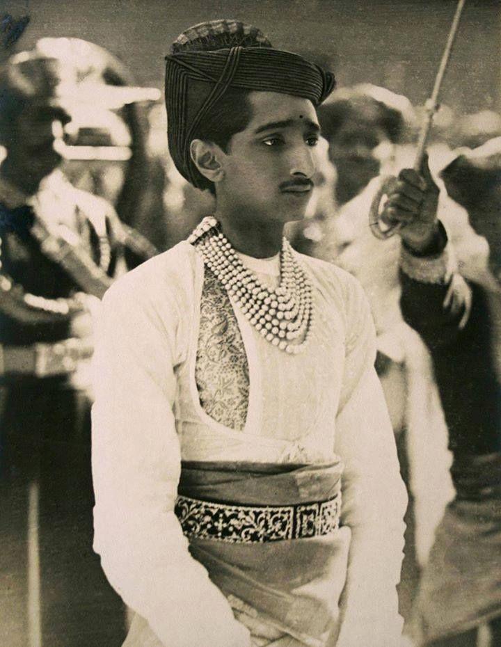 Major-General His Highness Maharajadhiraj Raj Rajeshwar Sawai Shri Sir Yeshwant Rao II Holkar XIV Bahadur, Maharaja of Indore, Knight Grand Commander of the Most Eminent Order of the Indian Empire By Rohit Sonkiya