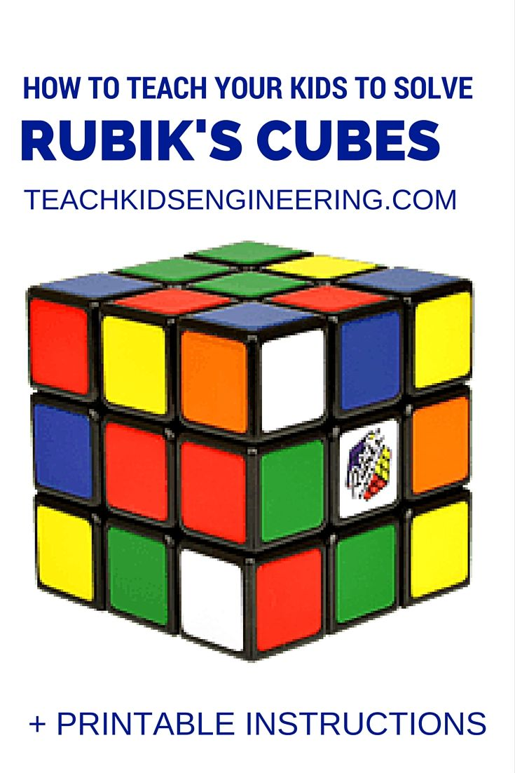 How A Rubiks Cube Inspired My Kids Love For Algorithms
